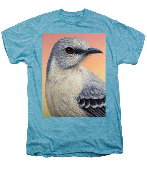 Portrait Of A Mockingbird Men's Premium T-Shirt by James W Johnson