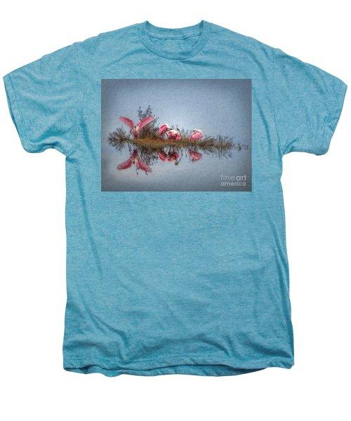 Roseate Spoonbills At Rest Men's Premium T-Shirt by Lianne Schneider