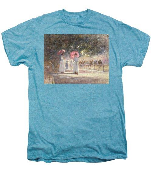 Rotten Row Men's Premium T-Shirt by Harry Fidler
