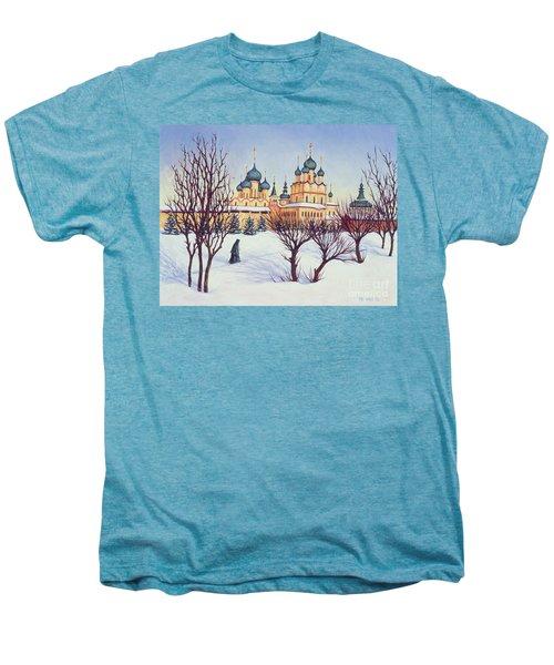Russian Winter Men's Premium T-Shirt by Tilly Willis
