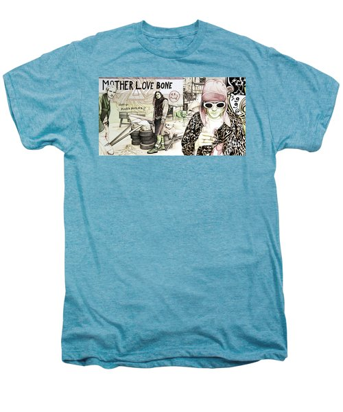 Seattle 1990's Men's Premium T-Shirt by Joshua Morton