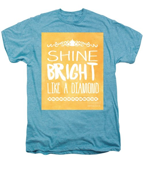 Shine Bright Orange Men's Premium T-Shirt by Pati Photography