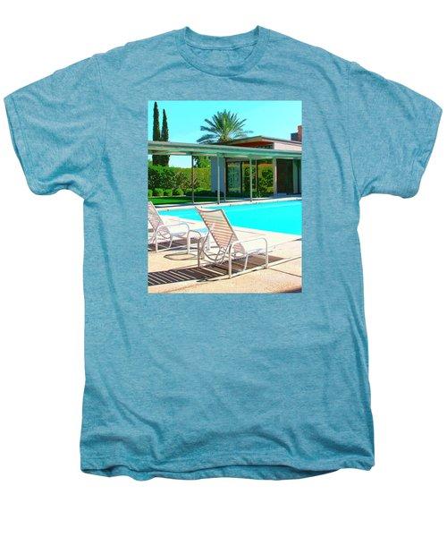 Sinatra Pool Palm Springs Men's Premium T-Shirt by William Dey