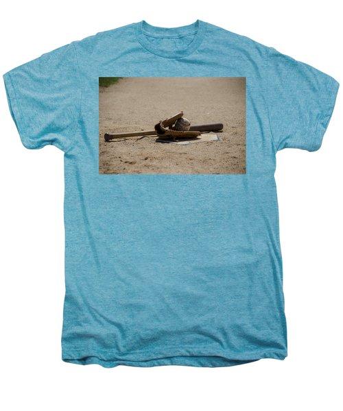 Softball Men's Premium T-Shirt by Bill Cannon