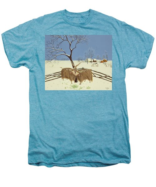 Spring In Winter Men's Premium T-Shirt by Magdolna Ban