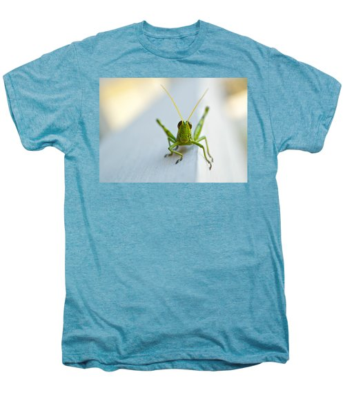 Staring At Me Men's Premium T-Shirt by Shelby  Young