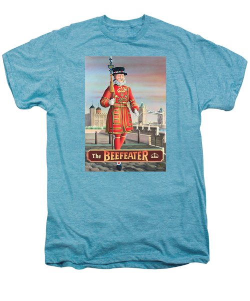 The Beefeater Men's Premium T-Shirt by Peter Green