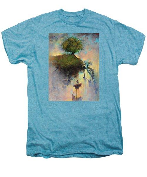 The Hiding Place Men's Premium T-Shirt by Joshua Smith