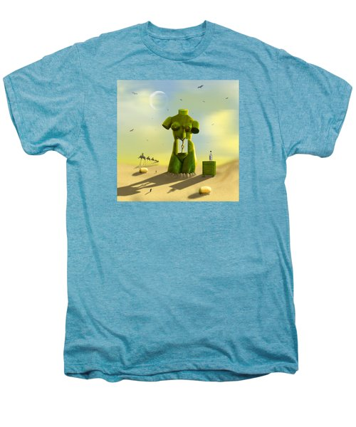 The Nightstand Men's Premium T-Shirt by Mike McGlothlen