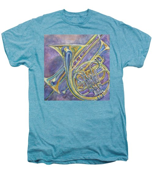 Three Horns Men's Premium T-Shirt by Jenny Armitage