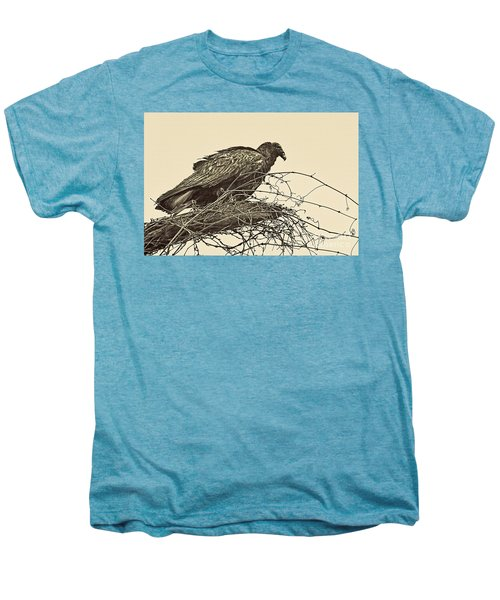 Turkey Vulture V2 Men's Premium T-Shirt by Douglas Barnard