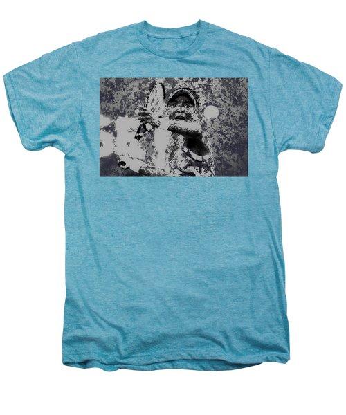 Venus Williams Paint Splatter 2e Men's Premium T-Shirt by Brian Reaves