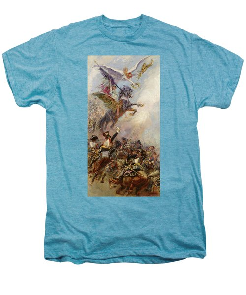 Victory Men's Premium T-Shirt by Jean-Baptiste Edouard Detaille