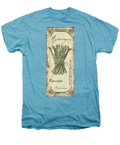 Vintage Vegetables 1 Men's Premium T-Shirt by Debbie DeWitt