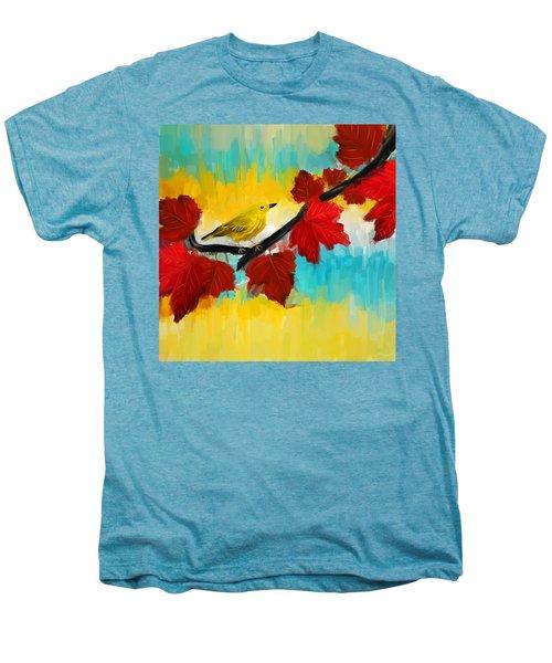Vividness Men's Premium T-Shirt by Lourry Legarde