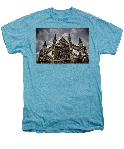 Westminster Abbey Men's Premium T-Shirt by Martin Newman