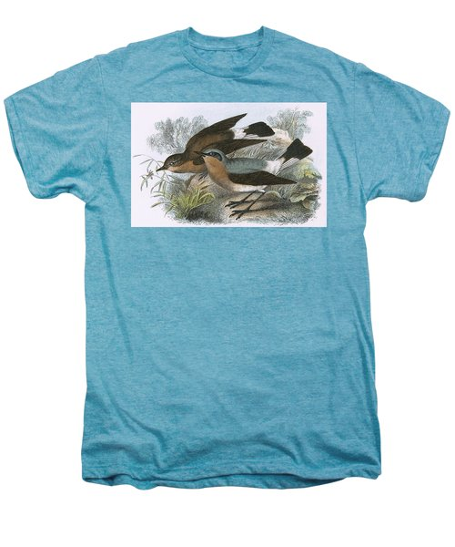 Wheatear Men's Premium T-Shirt by English School