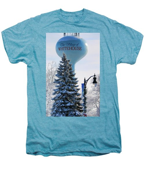 Whitehouse Water Tower  7361 Men's Premium T-Shirt by Jack Schultz