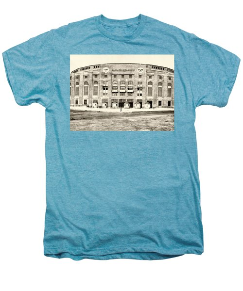 Yankee Stadium Men's Premium T-Shirt by Bill Cannon