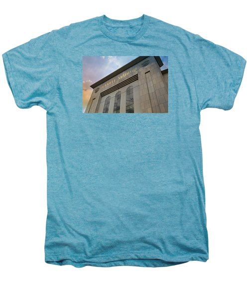 Yankee Stadium Men's Premium T-Shirt by Stephen Stookey
