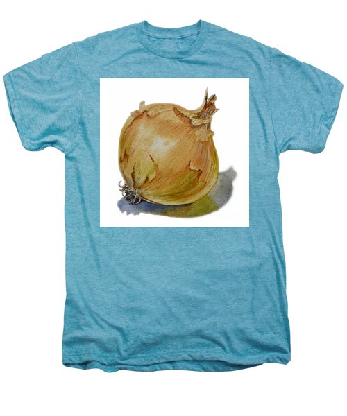 Yellow Onion Men's Premium T-Shirt by Irina Sztukowski