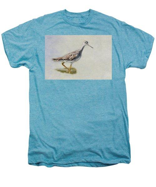 Yellowlegs Men's Premium T-Shirt by Bill Wakeley