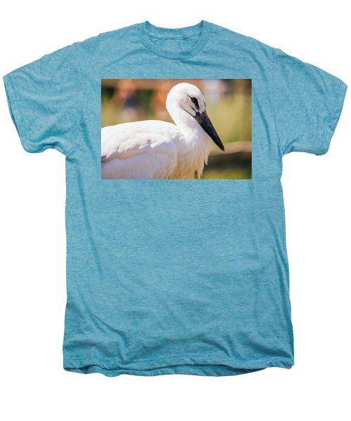 Young Stork Portrait Men's Premium T-Shirt by Pati Photography