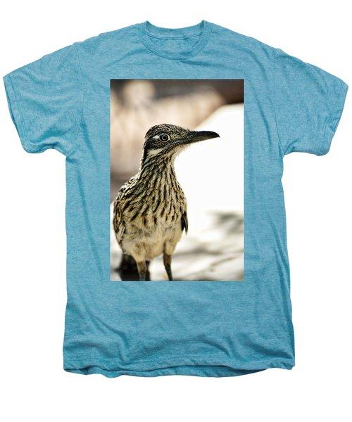 Greater Roadrunner  Men's Premium T-Shirt by Saija  Lehtonen