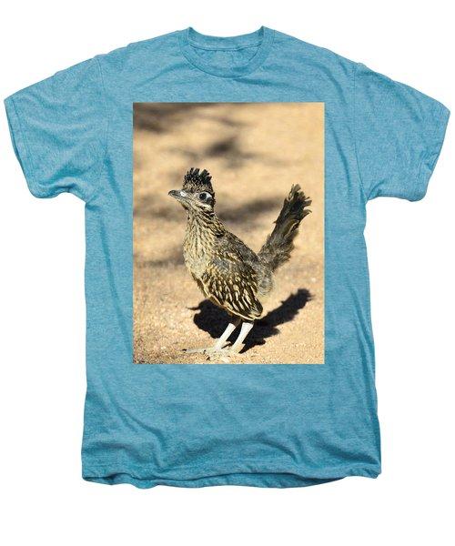 A Baby Roadrunner  Men's Premium T-Shirt by Saija  Lehtonen