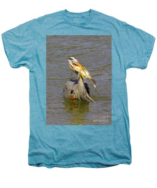 Bigger Fish To Fry Men's Premium T-Shirt by Robert Frederick