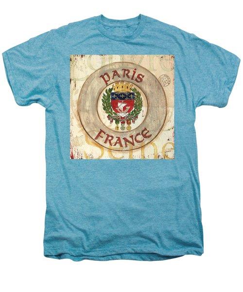 French Coat Of Arms Men's Premium T-Shirt by Debbie DeWitt