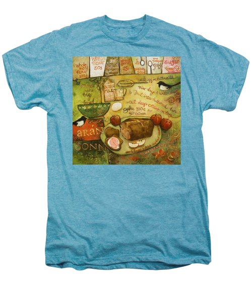 Irish Brown Bread Men's Premium T-Shirt by Jen Norton