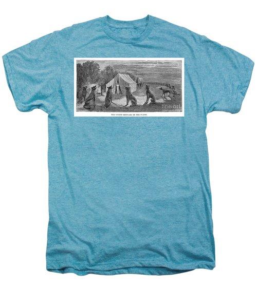 Mango Hummingbird Men's Premium T-Shirt by Granger