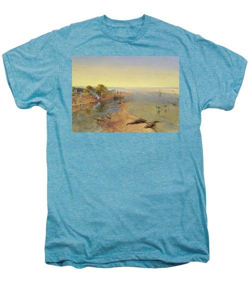 The Ganges Men's Premium T-Shirt by William Crimea Simpson