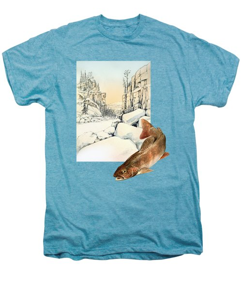 Lenok Men's Premium T-Shirt by Alexandra Panaiotidi