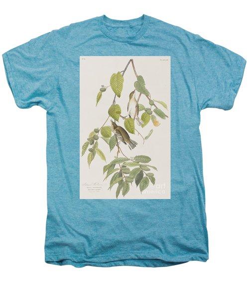 Autumnal Warbler Men's Premium T-Shirt by John James Audubon