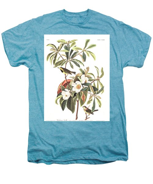 Bachman's Warbler  Men's Premium T-Shirt by John James Audubon