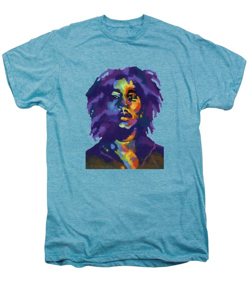 Bob Marley-for T-shirt Men's Premium T-Shirt by Stephen Anderson