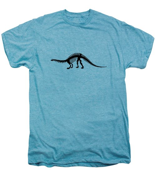 Brontosaurus Skeleton Men's Premium T-Shirt by Mordax Furittus