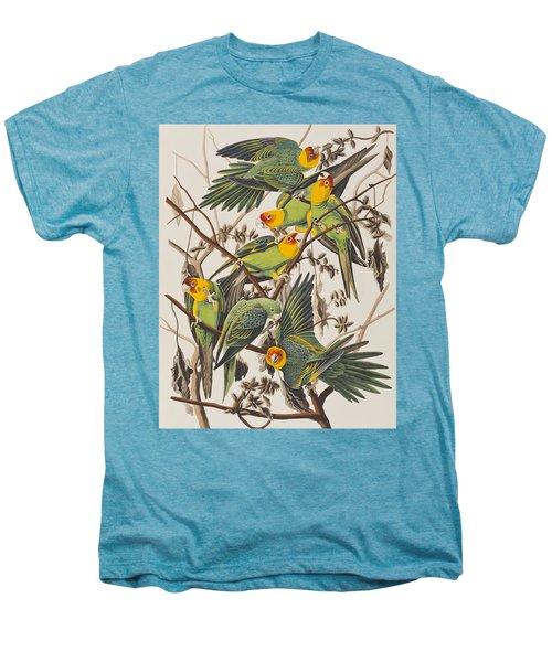 Carolina Parrot Men's Premium T-Shirt by John James Audubon