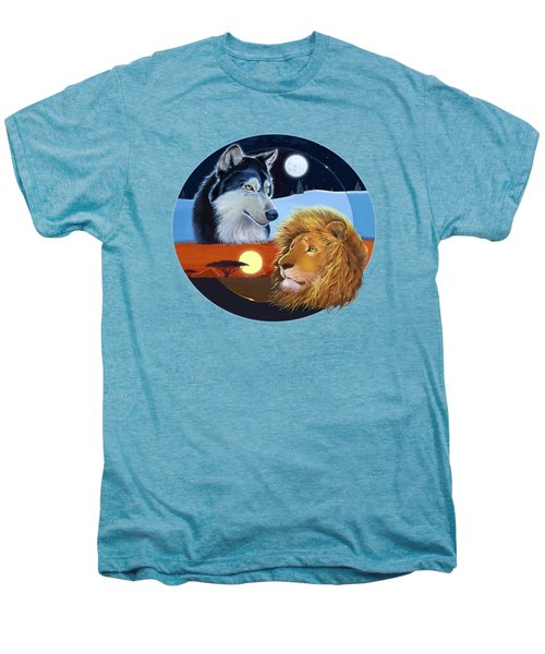 Celestial Kings Circular Men's Premium T-Shirt by J L Meadows