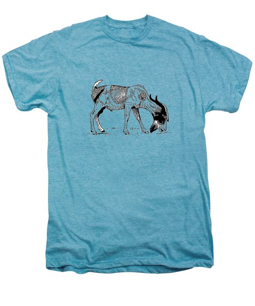 Goat Men's Premium T-Shirt by Mordax Furittus