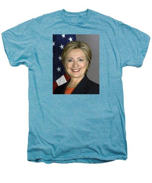 Hillary Clinton Men's Premium T-Shirt by War Is Hell Store