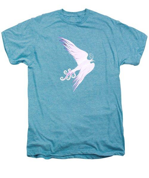 Magical Phoenix Bird Artistic Design Men's Premium T-Shirt by Awen Fine Art Prints