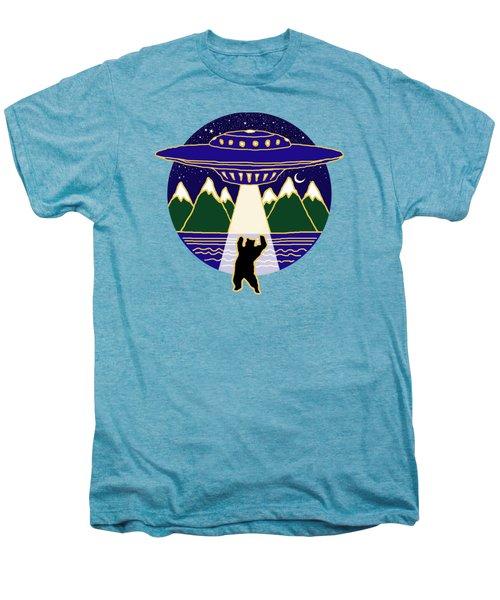 Mothership Takes Bear Men's Premium T-Shirt by Holly Douglas