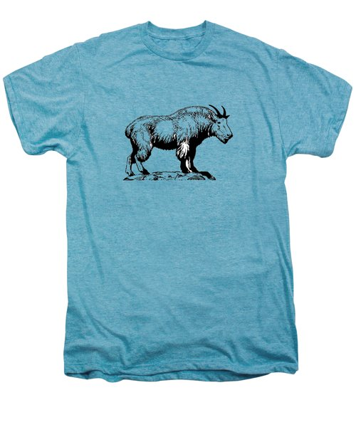 Mountain Goat Men's Premium T-Shirt by Mordax Furittus