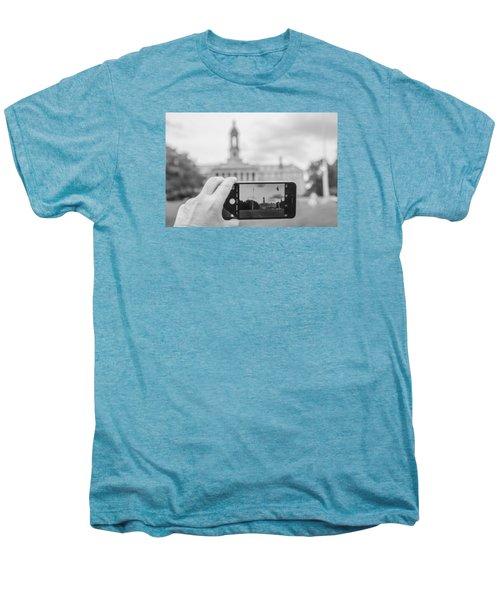 Old Main Penn State  Men's Premium T-Shirt by John McGraw