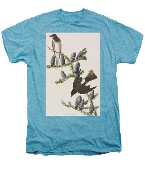 Olive Sided Flycatcher Men's Premium T-Shirt by John James Audubon