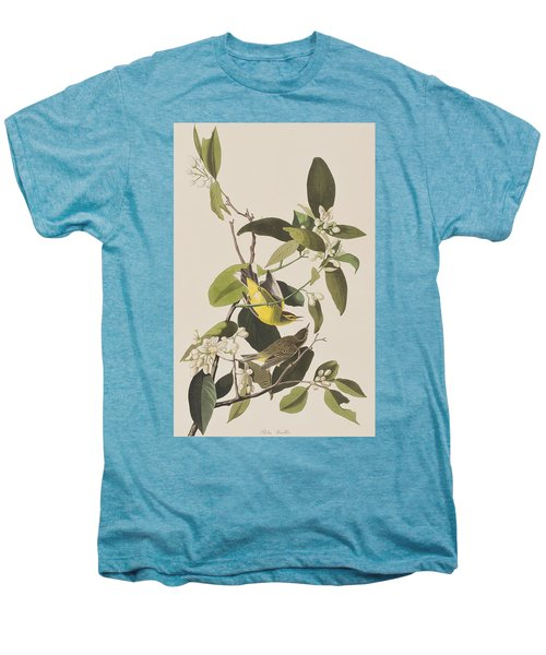 Palm Warbler Men's Premium T-Shirt by John James Audubon