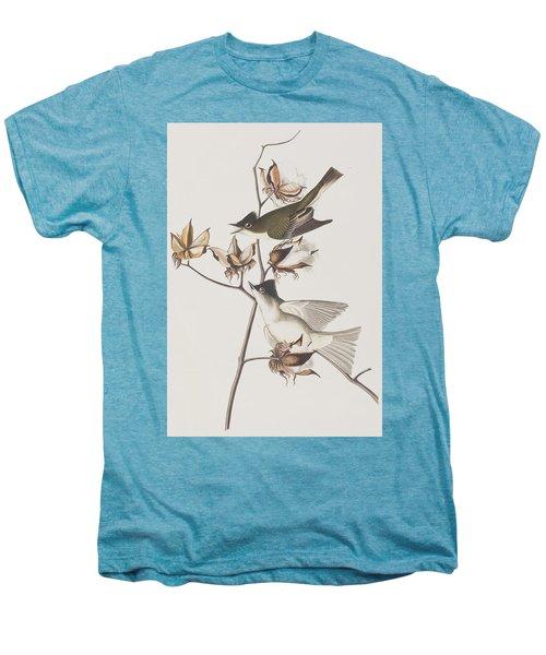 Pewit Flycatcher Men's Premium T-Shirt by John James Audubon